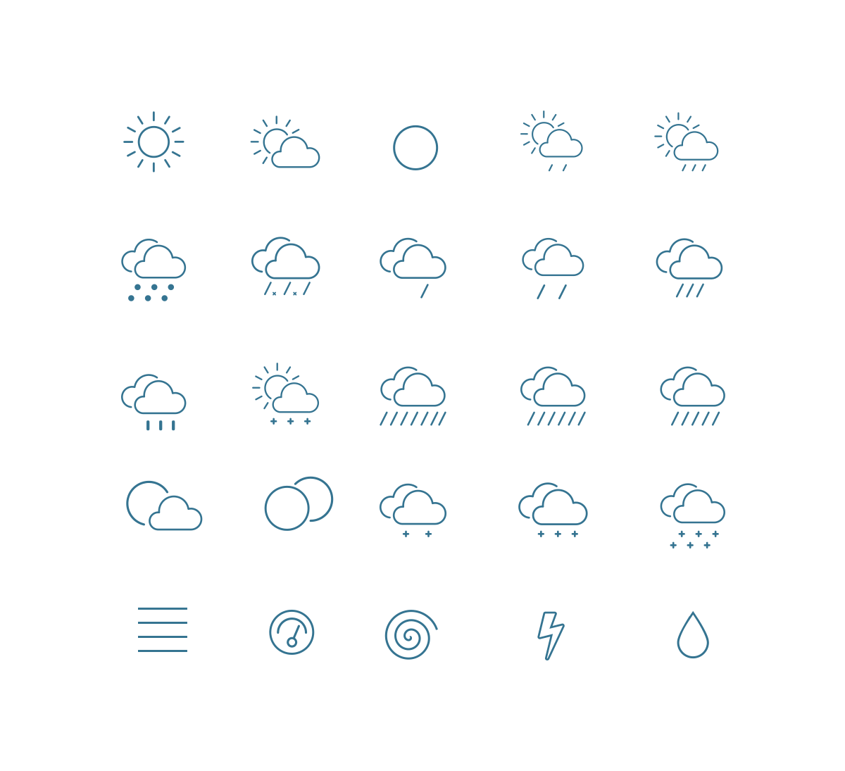 outline-weather-icons