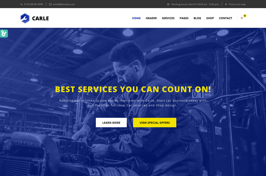 pearle-multipurpose-service-shop-html-template