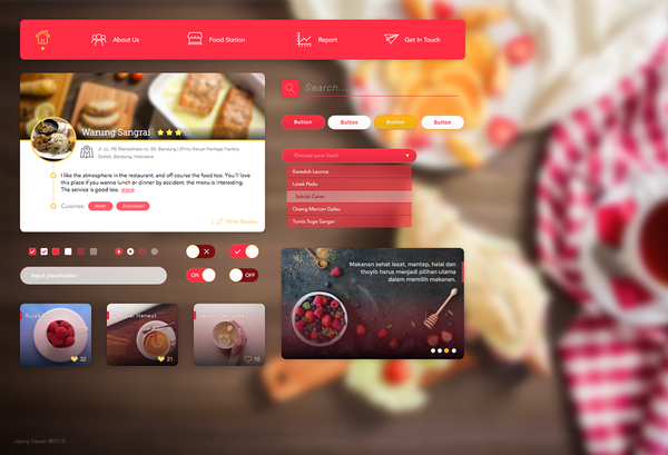restaurant-food-ui-kit