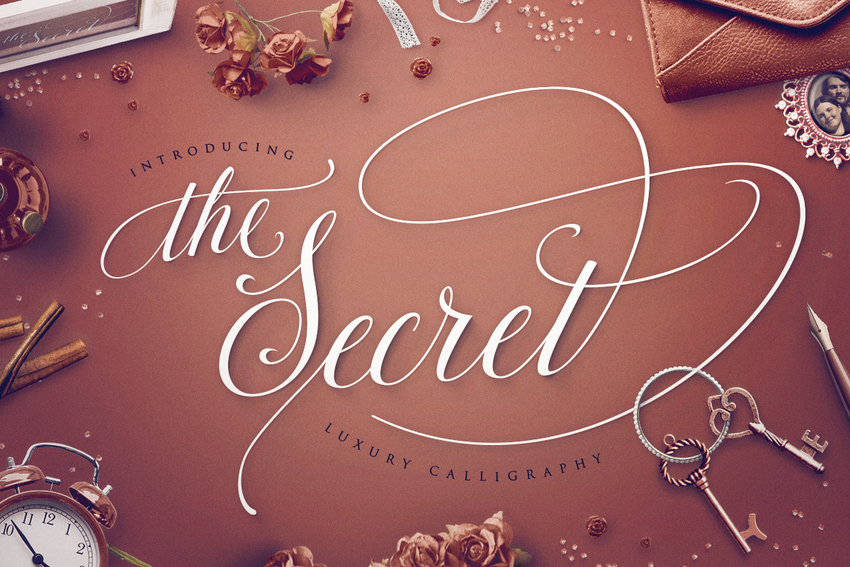 thesecret-luxury-calligraphy-script-2