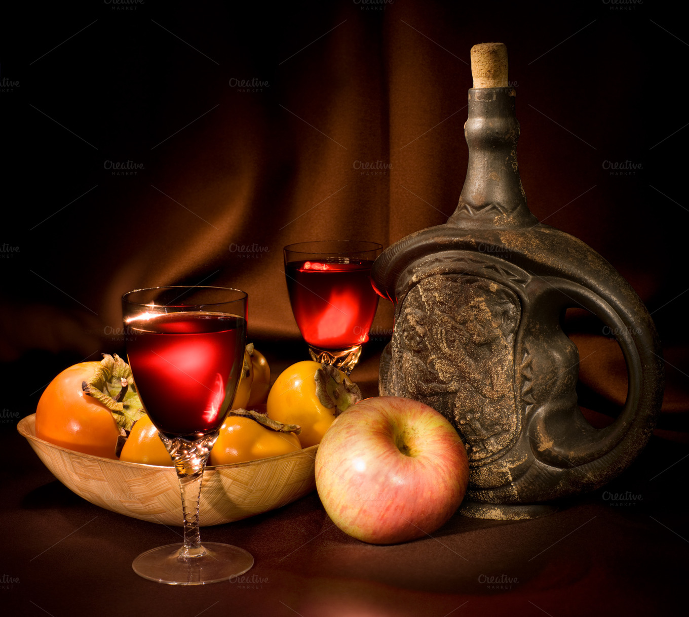vintage-wine-and-fruits-picture