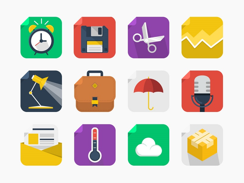 20-Free-Square-Icons