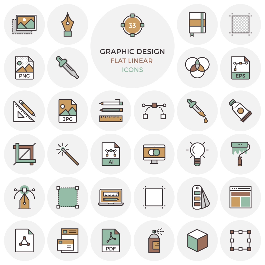 33-free-flat-graphic-design-icons