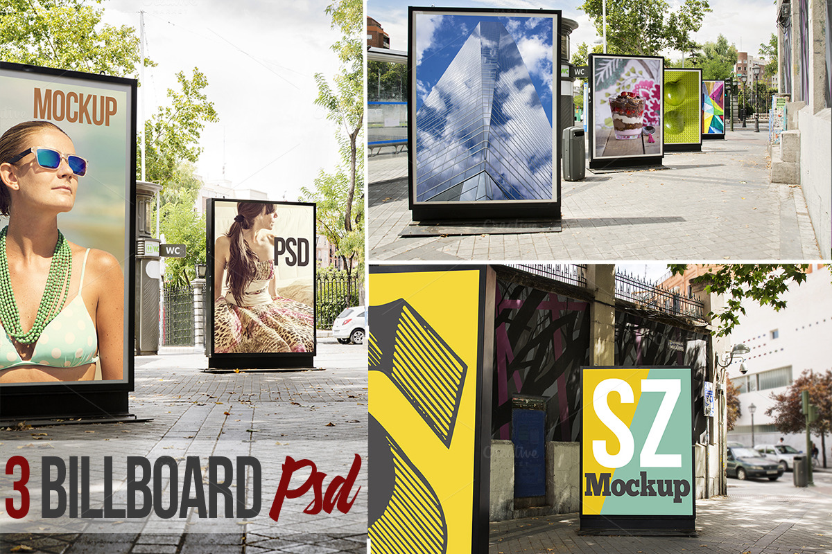 Billboard-city-PSD