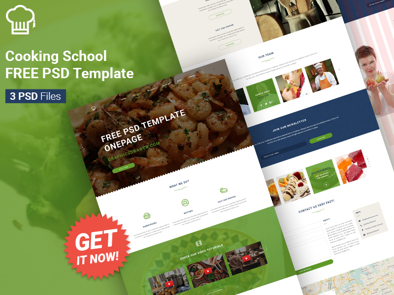 Cooking-School-FREE-PSD-Template