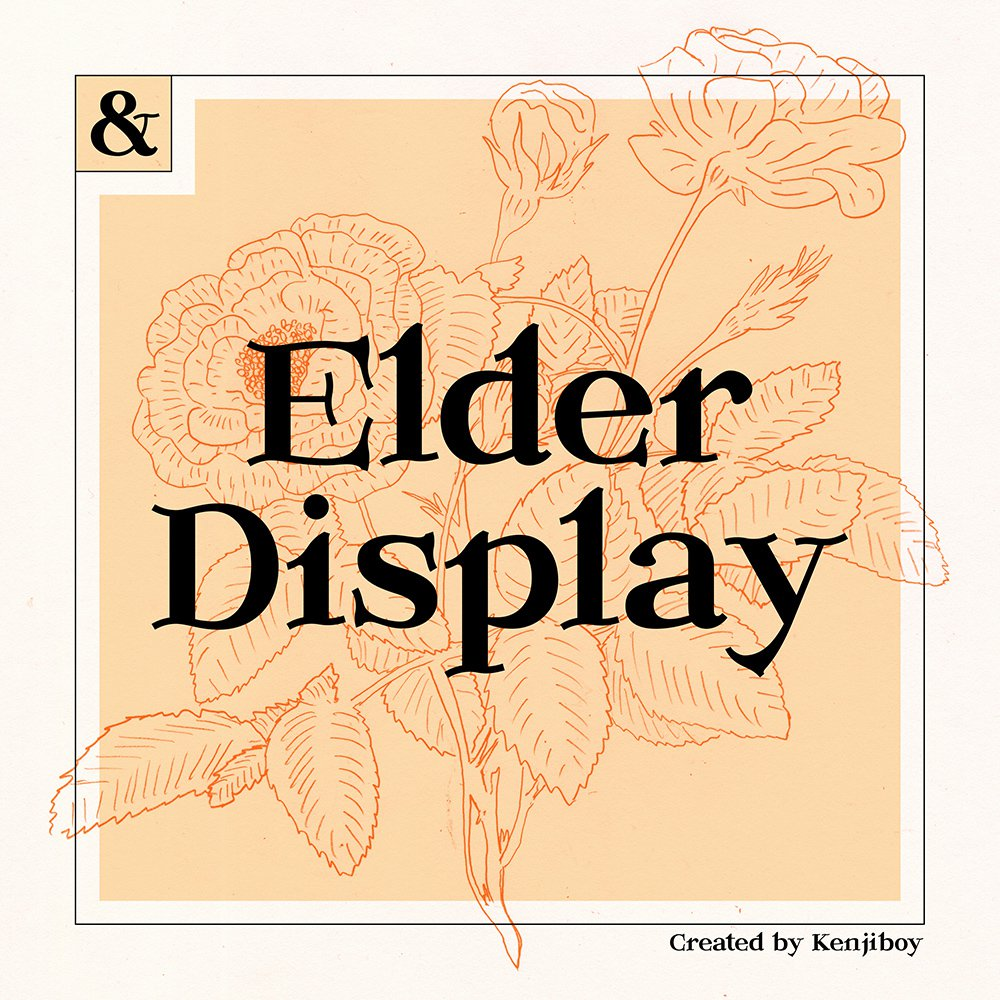 Elder-Display-Font