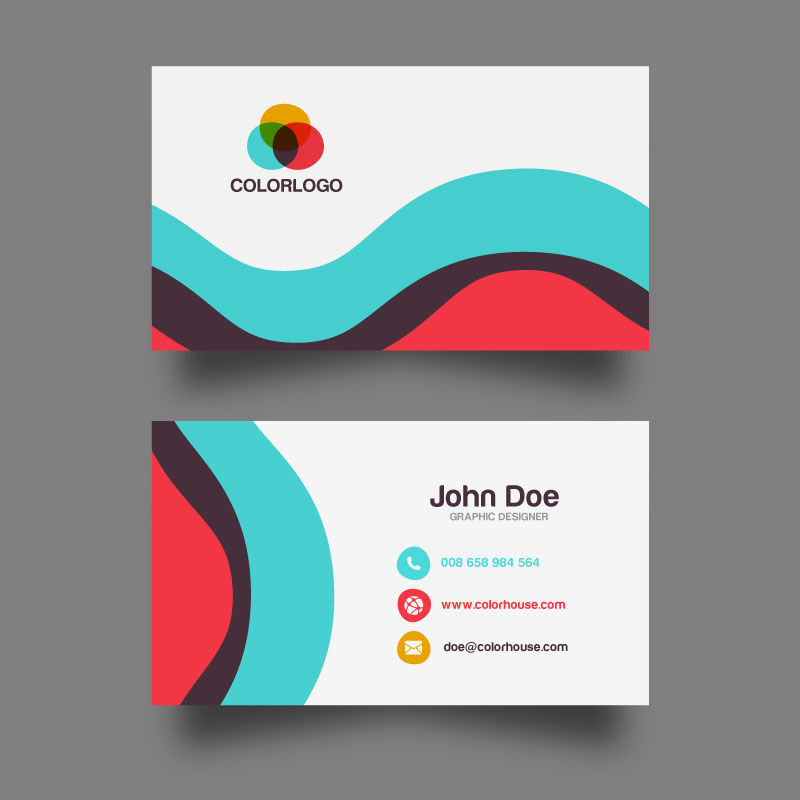 Flat-Business-Card-Template