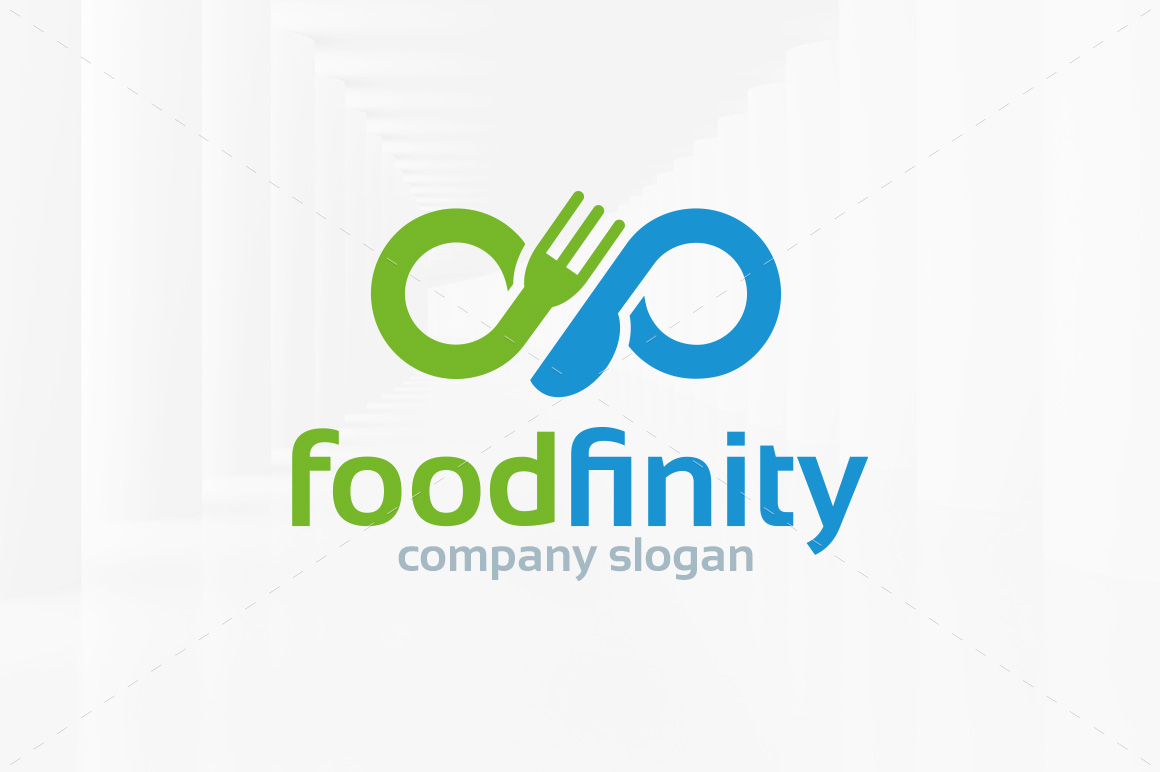 Food-Infinity-Logo-Template
