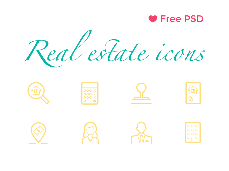 Free-Real-Estate-Icons