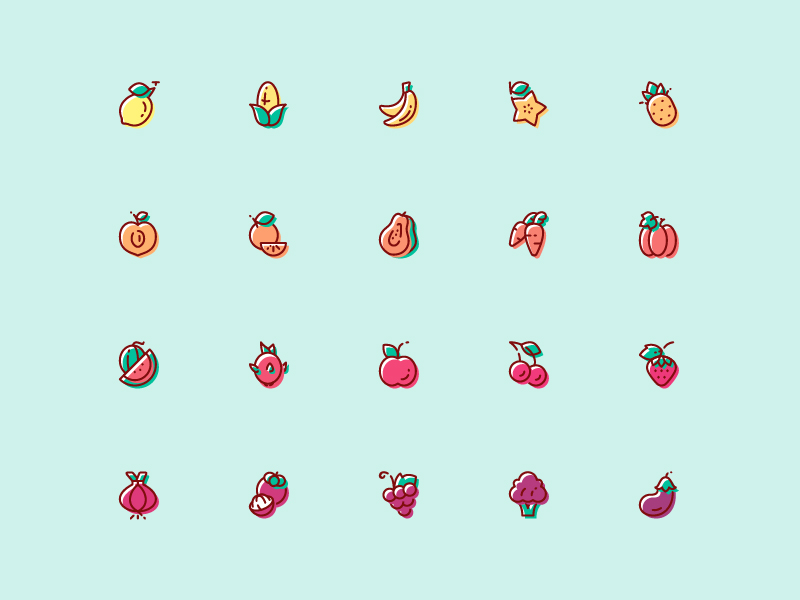 Fruit-Vegetable-Icon