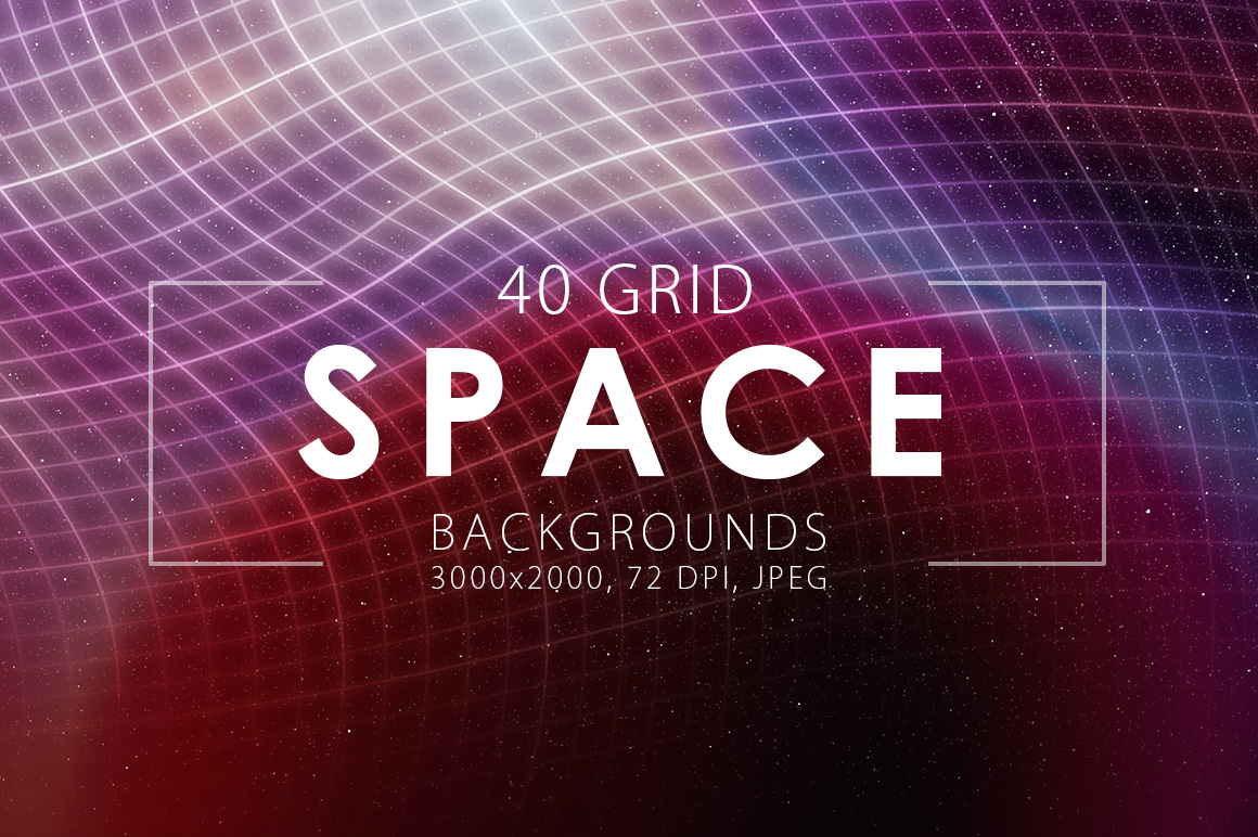 Grid-Space-Backgrounds