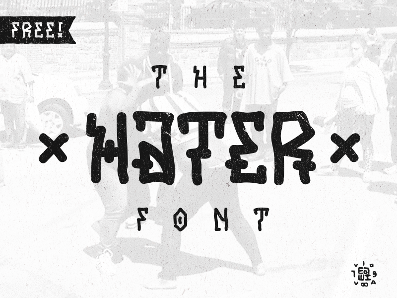 HATER-Free-font
