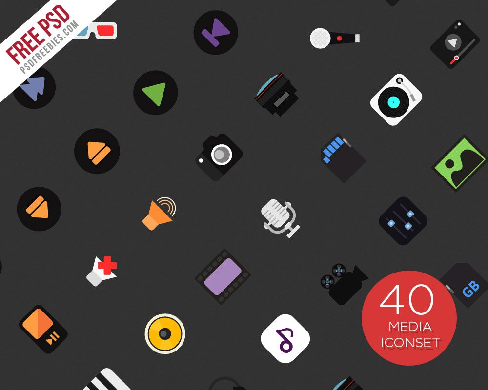 Music-and-Media-Icons-PSD