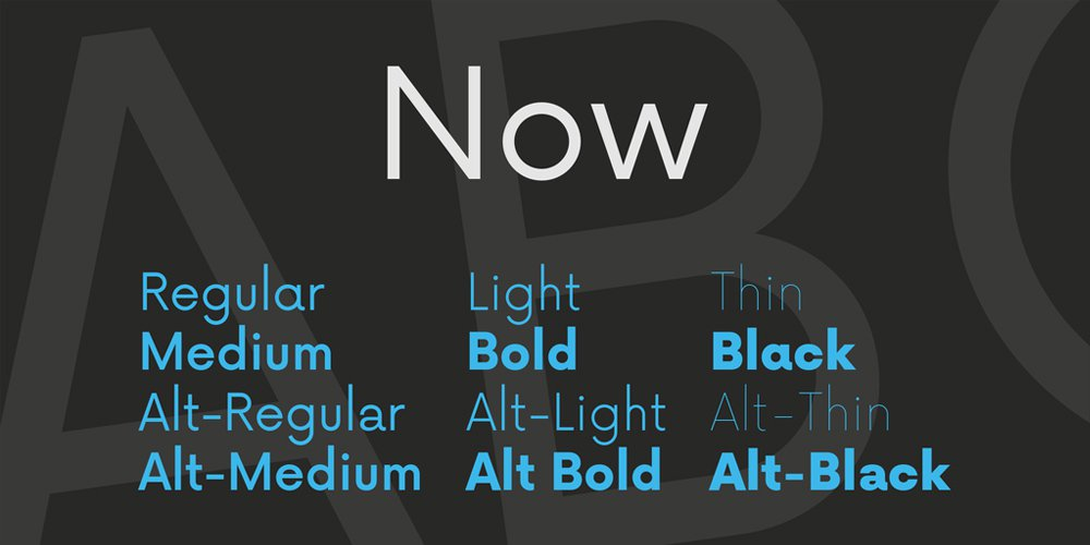 Now-Font