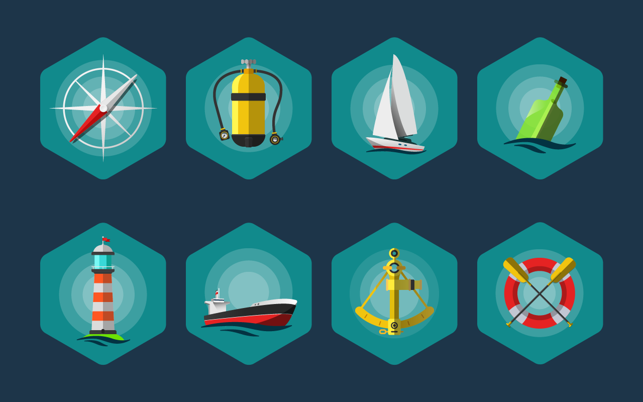 Sea-Icon-set
