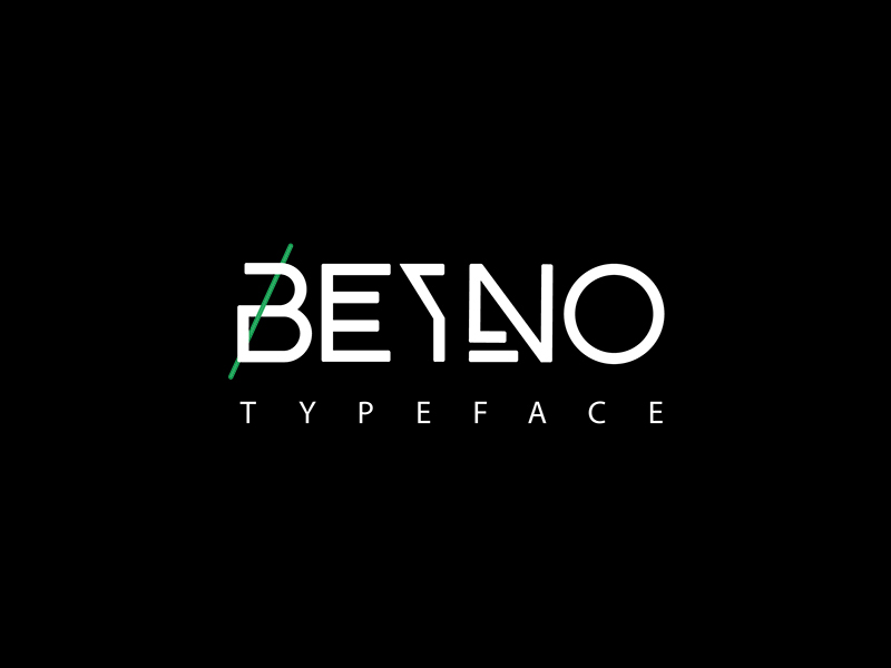 The-FREE-Beyno-Typeface