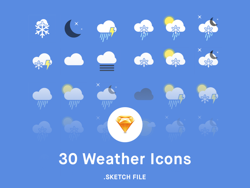 Weather-Icons-sketch