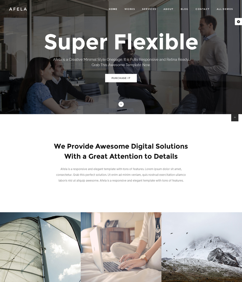 afela-flexible-multipurpose-html5-template