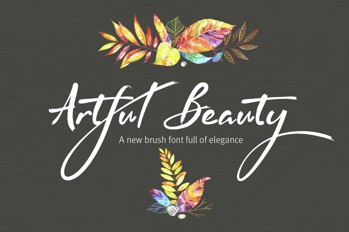 artful-beauty-brush-font
