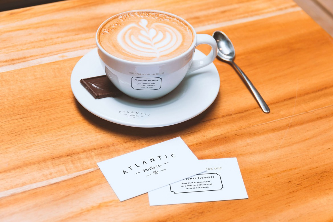 business-cards-and-coffee-cup-mockup