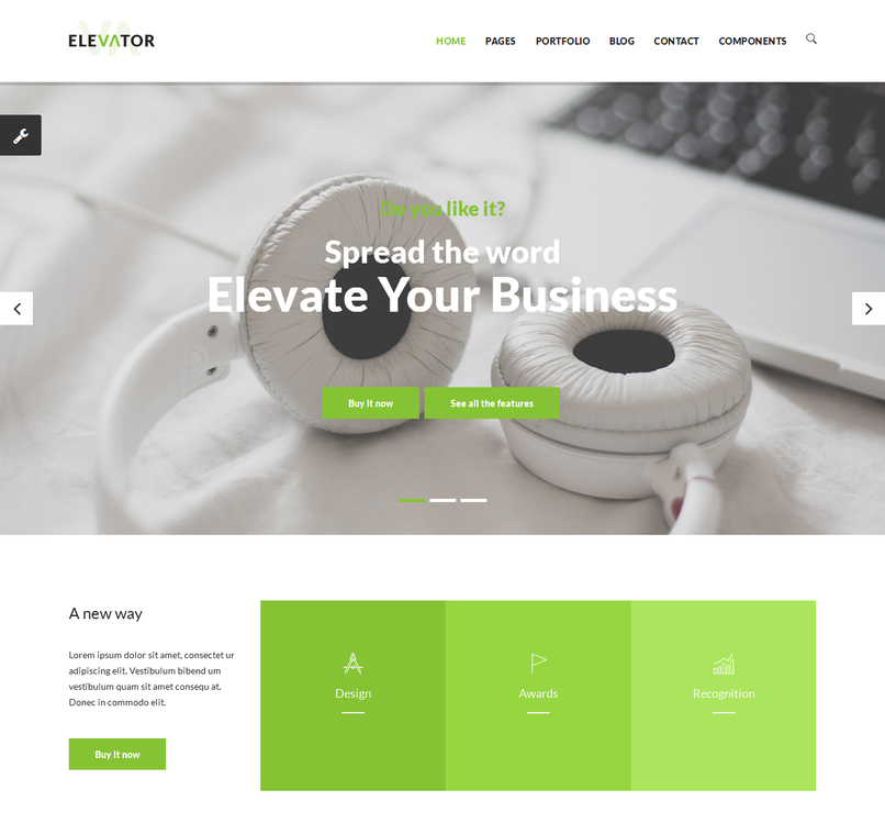 elevator-responsive-business-html5-template