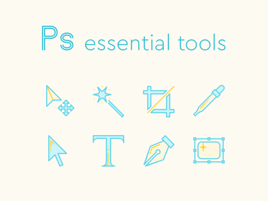 essential-photoshop-tools-icons