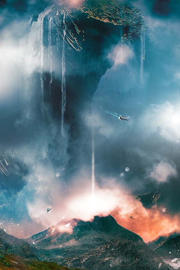 fantasy-landscape-with-floating-mountain-waterfall