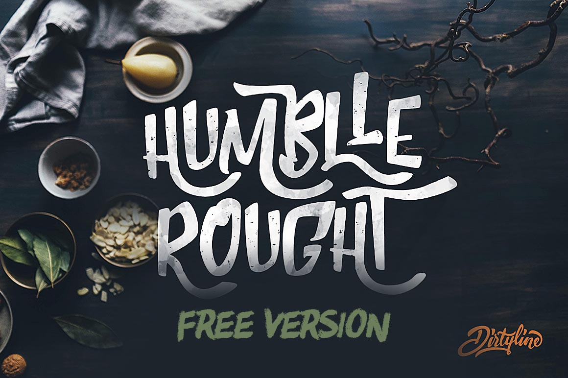 humblle-rought-free-font