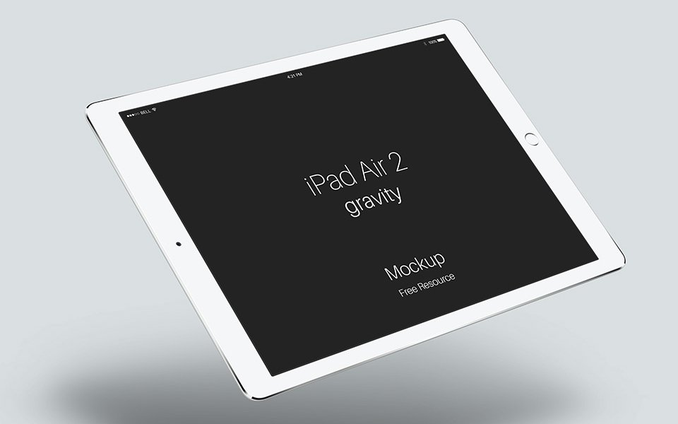 iPad-Air-2-Gravity-Mockup-PSD