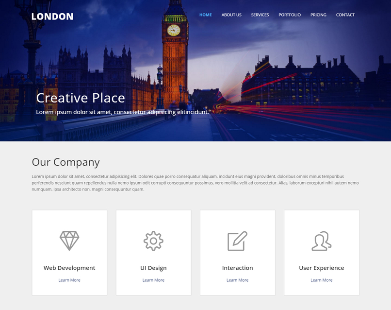 london-corporate-bootstrap-responsive-template