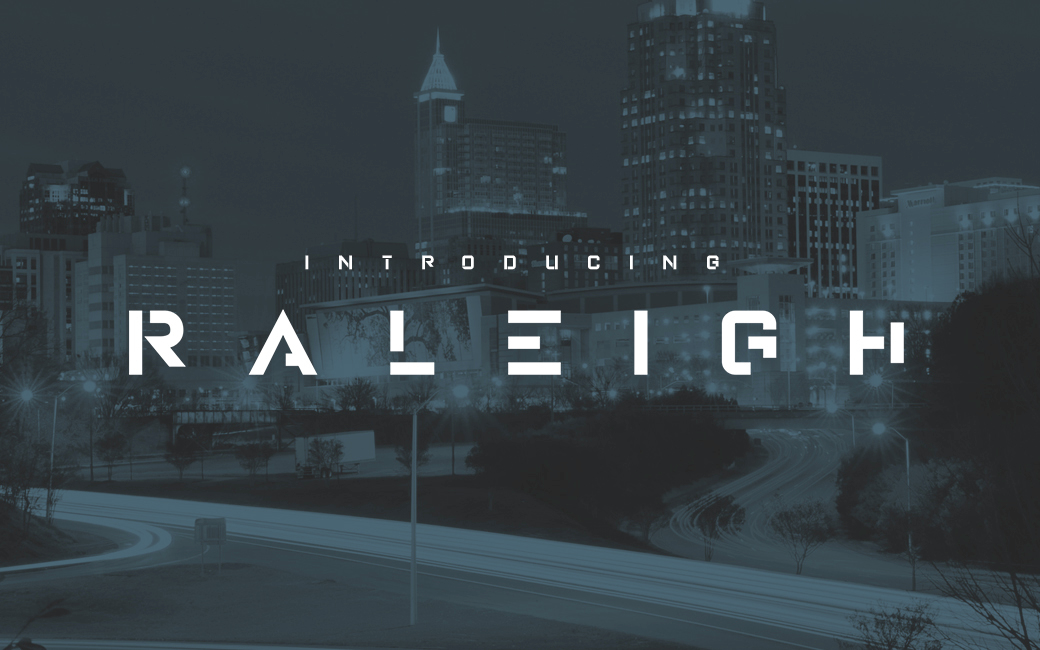 raleigh-font