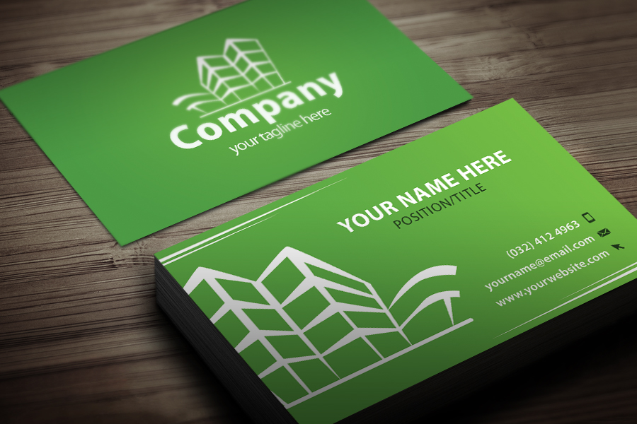 Free Real Estate Business Card Templates Designazurecom - Real estate business card templates