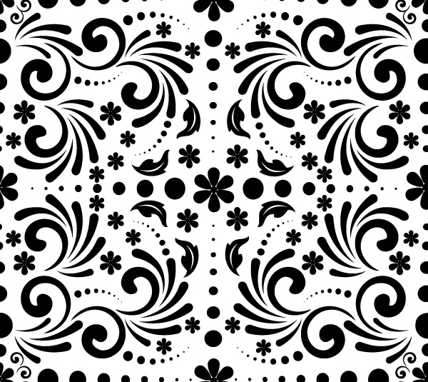 spring-pattern-vector-freebie