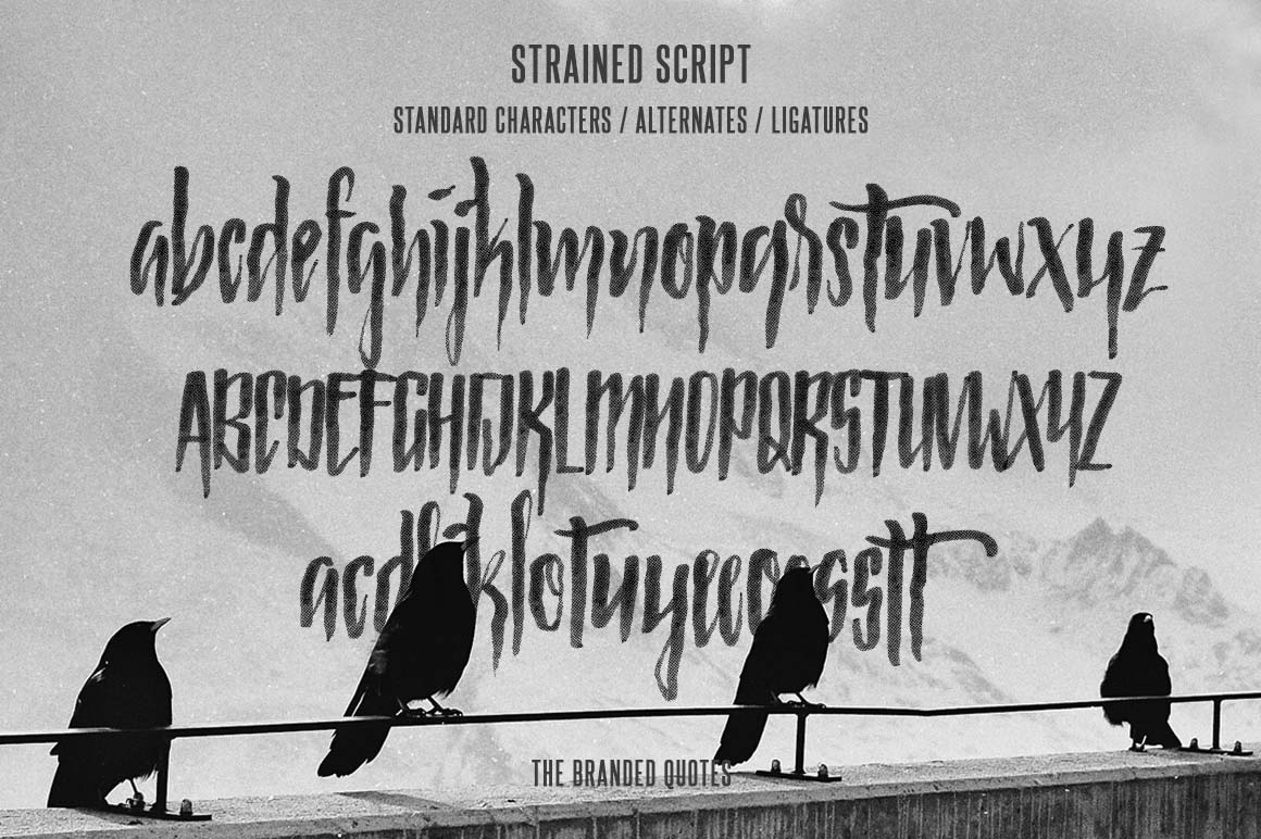 strained-free-brush-font2
