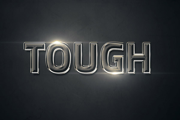 textured-chrome-text-effect-in-photoshop