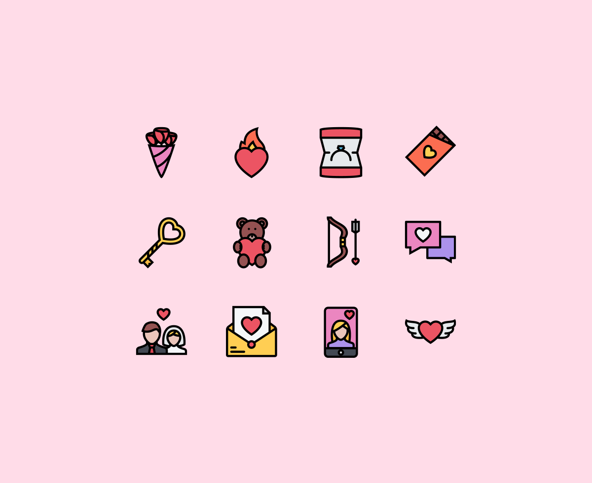 the-love-icons
