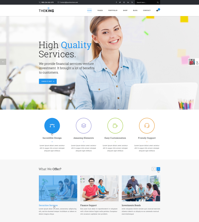 theking-multipurpose-business-agency-psd-template-2