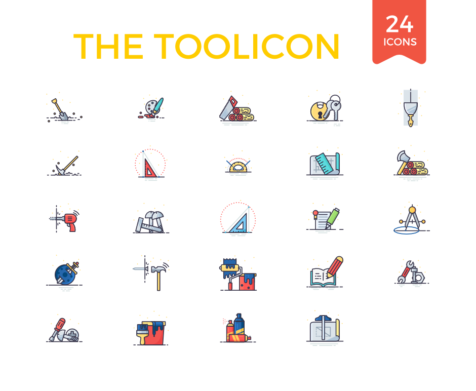 24-Toolicons