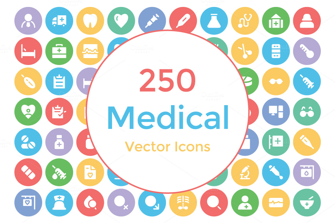 250-Medical-Vector-Icons