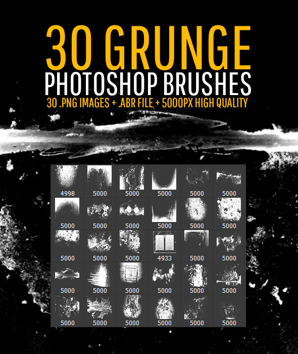 30-grunge-photoshop-brushes