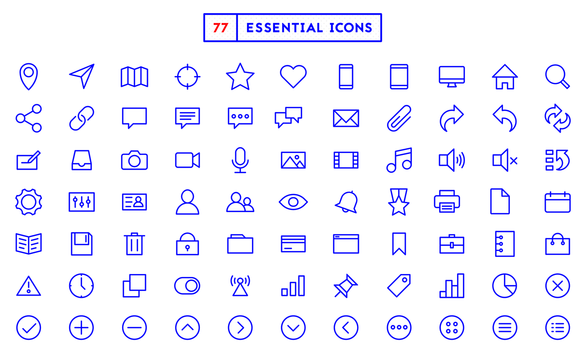 77-free-essential-icons-psd