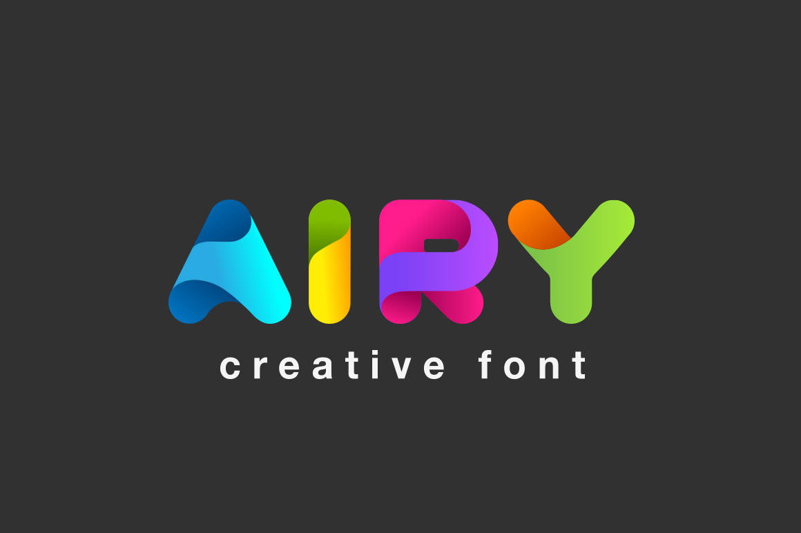 Airy-font