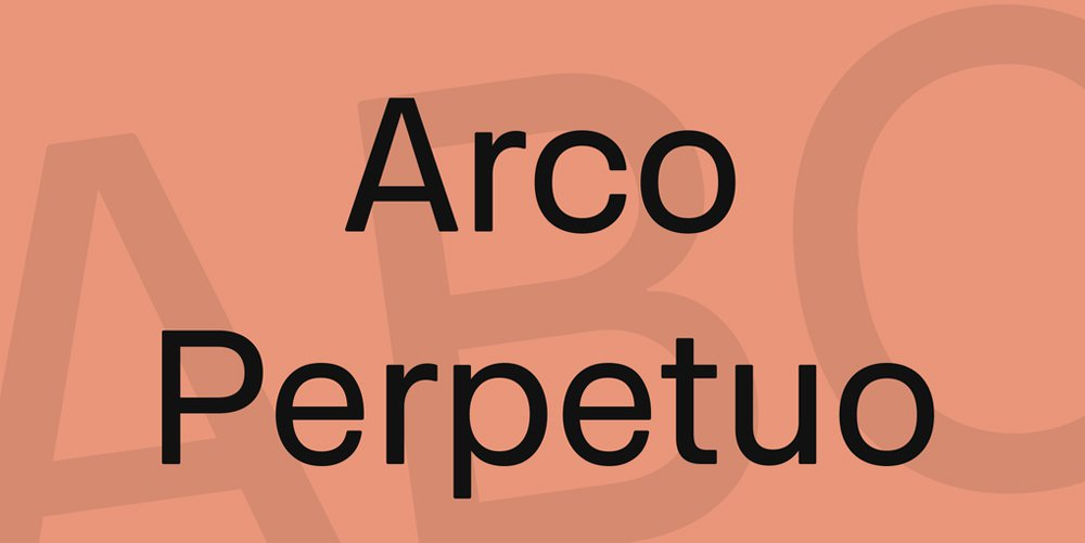 Arco-Perpetuo-Font