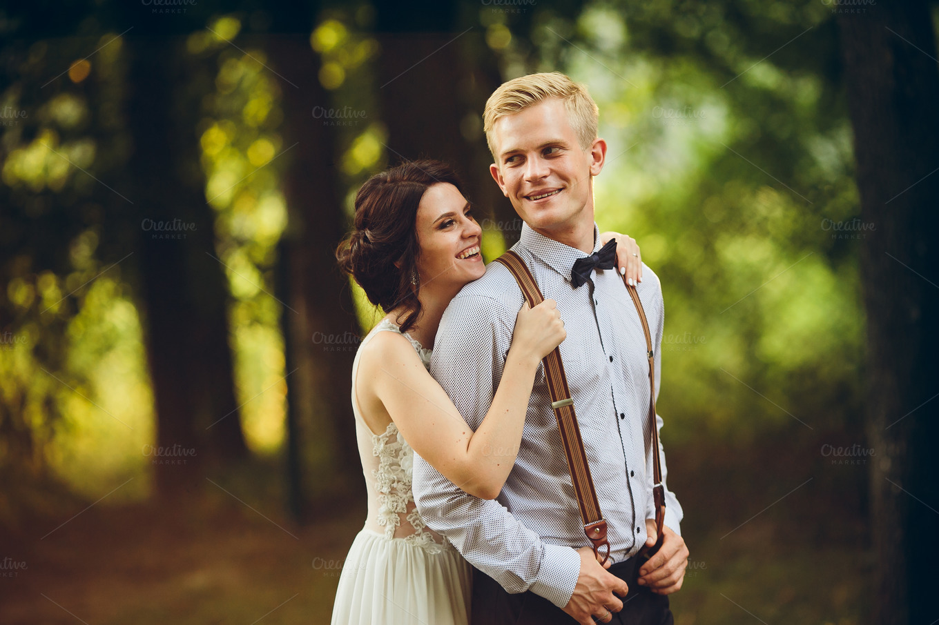 Beautiful-wedding-couple-posing