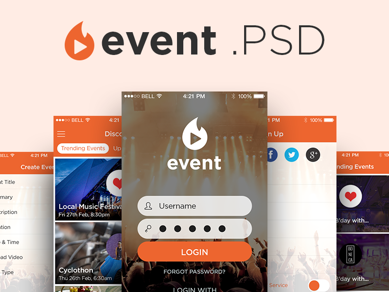 Event-App-UI-Kit