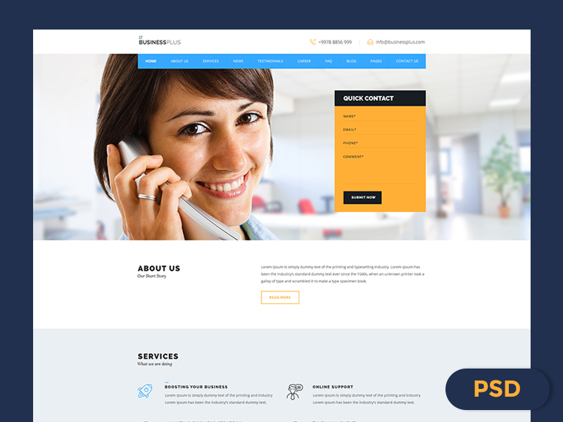 Free-Business-PSD
