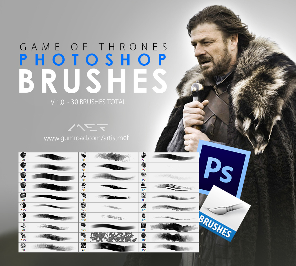 Game-of-Thrones-Photoshop-Brushes