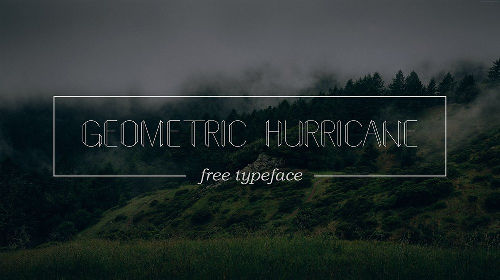 Geometric-hurricane