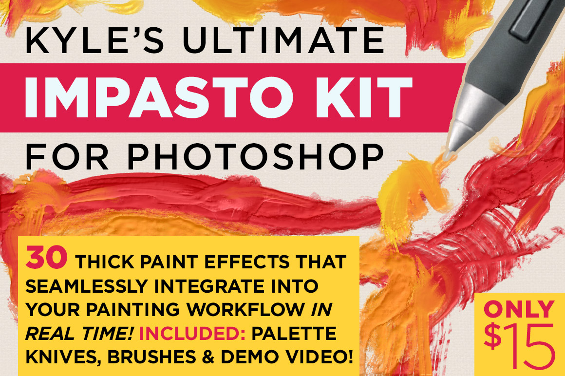 Kyles-Impasto-Kit-for-Photoshop
