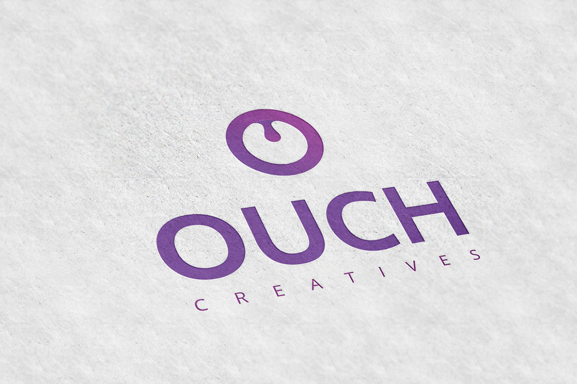 Ouch-Letter-O-Logo